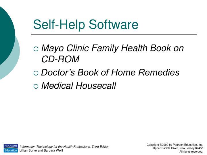 Self-Help Software