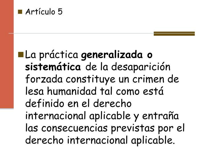Artículo5