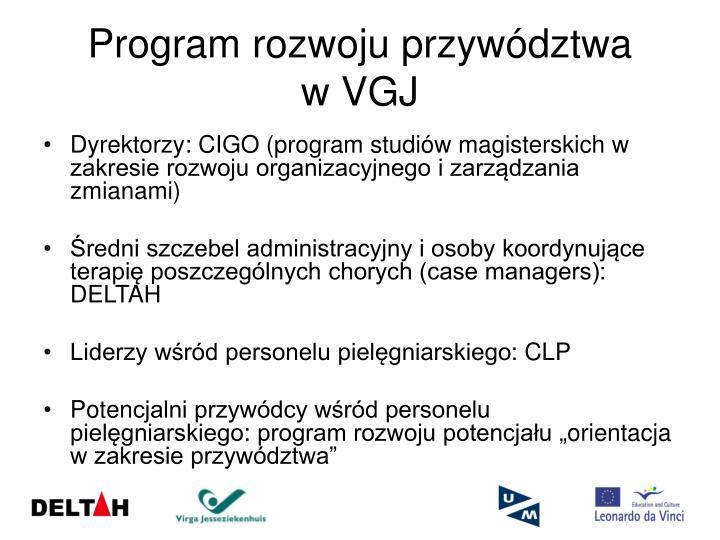 Program rozwoju przywództwa