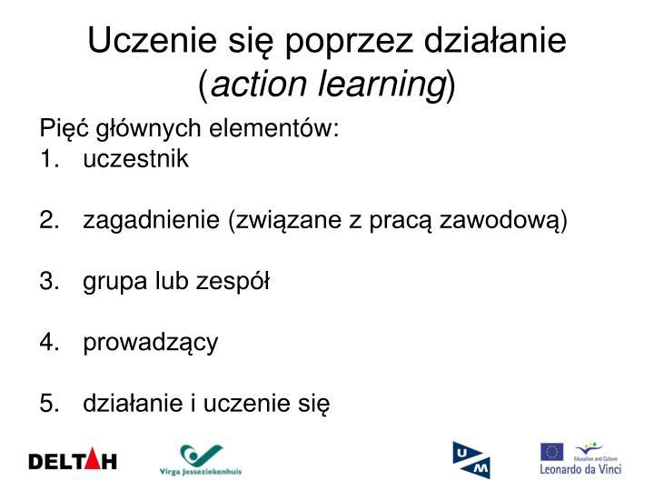 Uczenie się poprzez działanie (