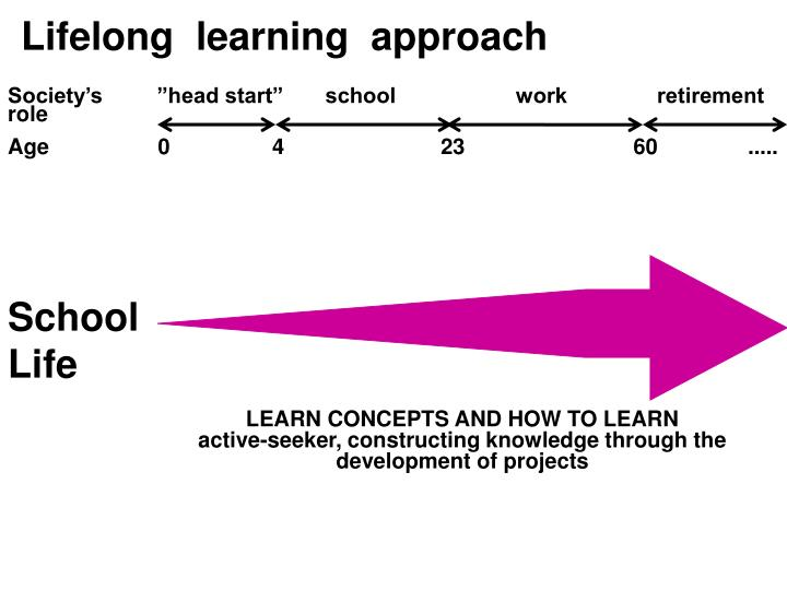 Lifelong  learning  approach