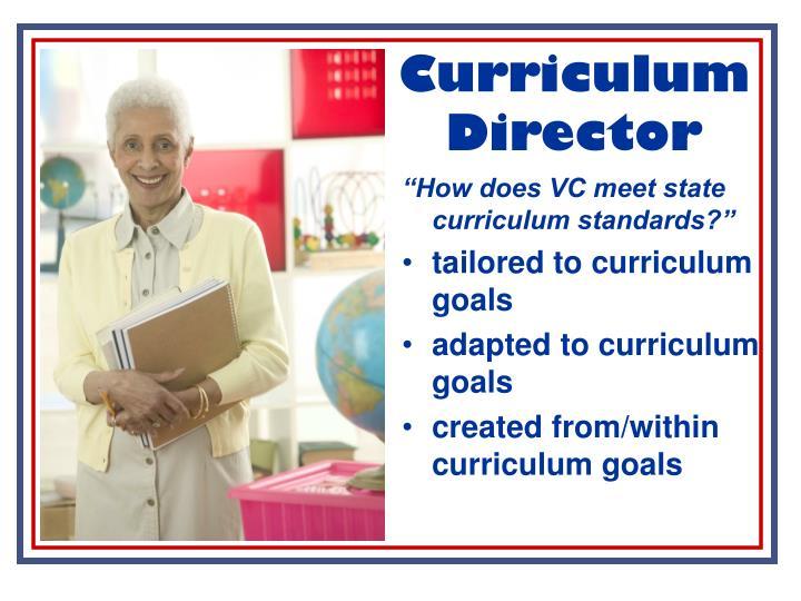 Curriculum Director
