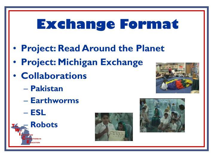 Exchange Format