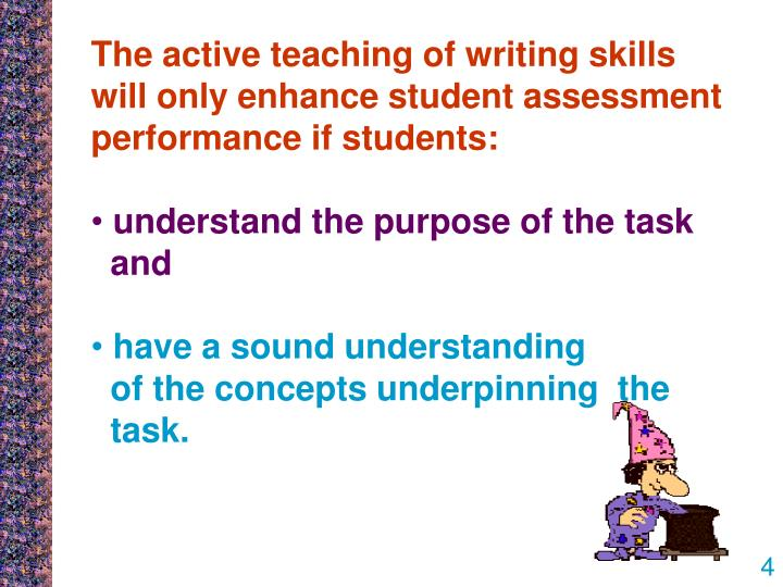 assessment task essay Cypop5 assessment task 7 essay 3483 words aug 5th, 2013 14 pages assessment 7: understand how to provide play and other activities for children in home-based settings that will support.