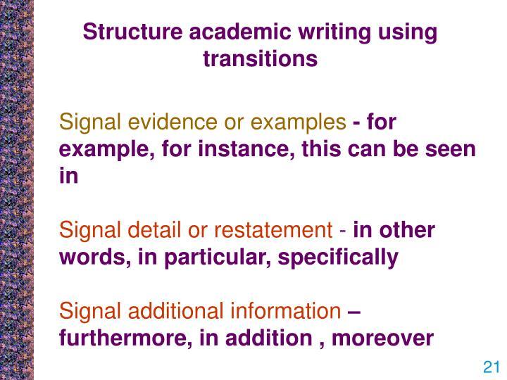 using transitions essay writing