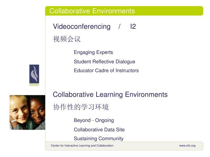Collaborative Environments