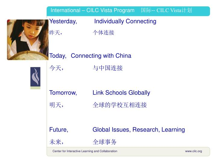 International – CILC Vista Program