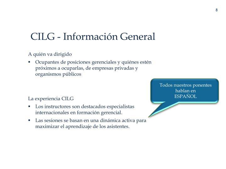 CILG - Información General