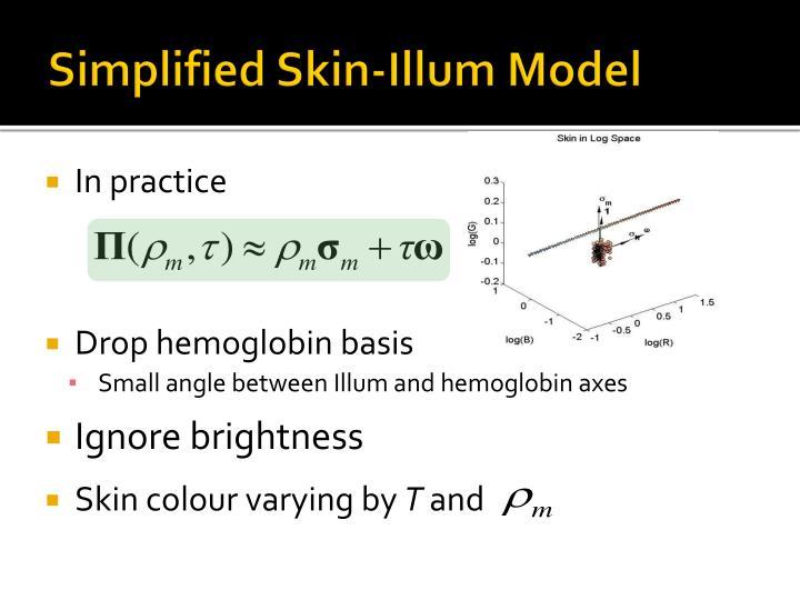 Simplified Skin-Illum Model