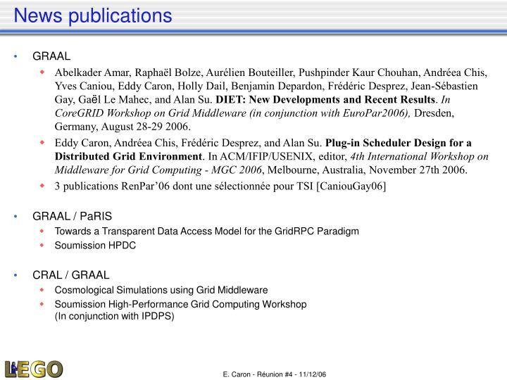 News publications
