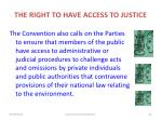 the right to have access to justice1