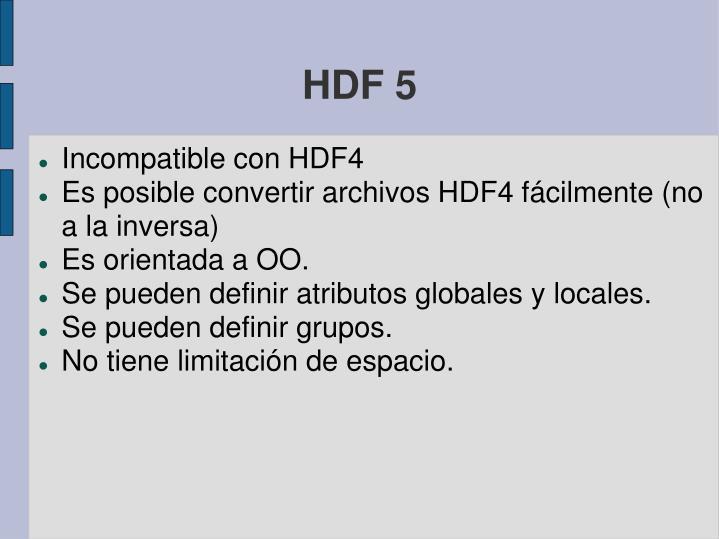 HDF 5
