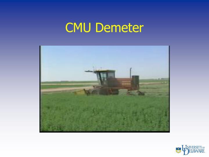 CMU Demeter