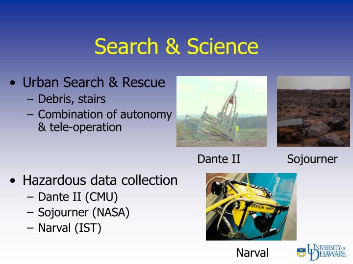 Search & Science