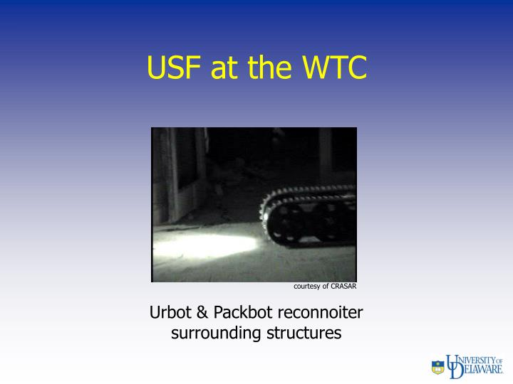 USF at the WTC