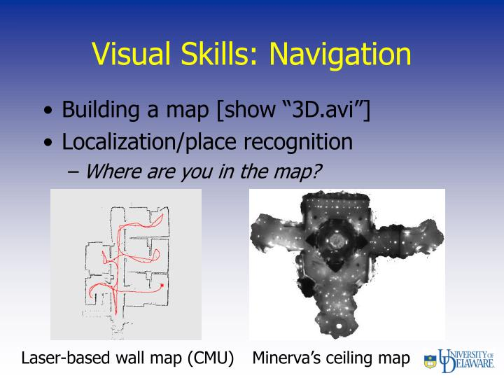 Visual Skills: Navigation