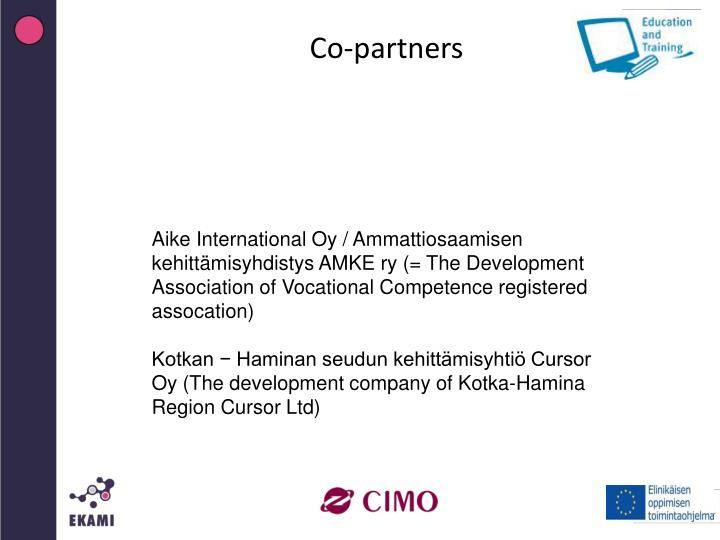 Co-partners