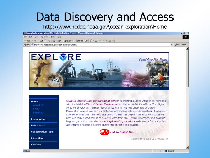 Data Discovery and Access