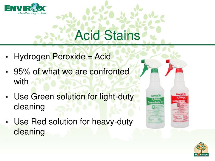Acid Stains