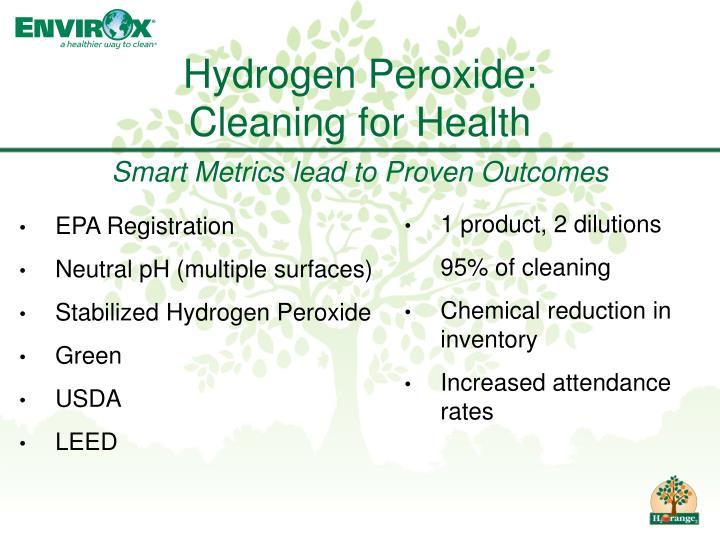 Hydrogen Peroxide: