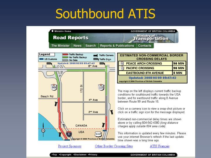 Southbound ATIS
