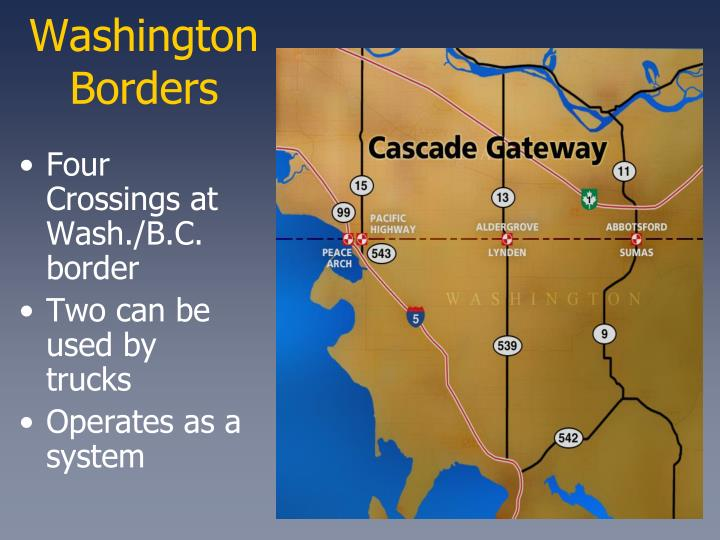 Washington Borders