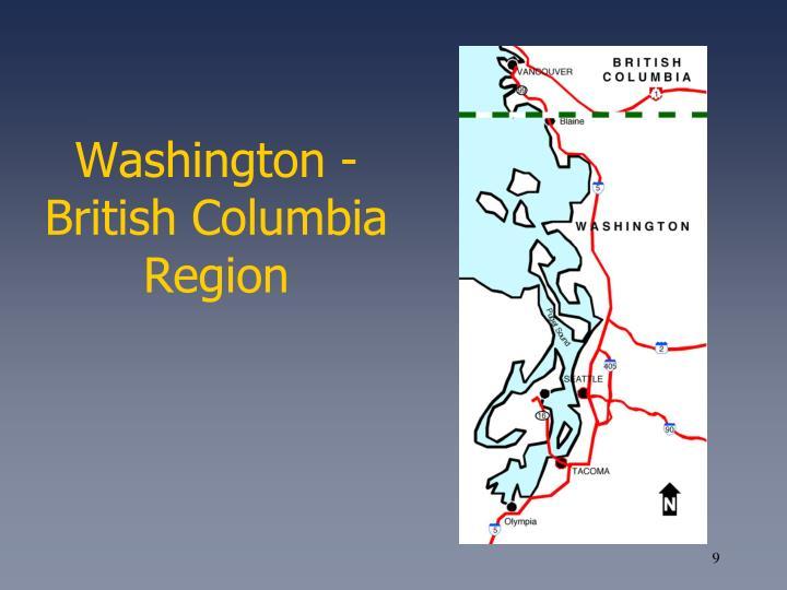 Washington - British Columbia Region