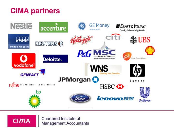 CIMA partners