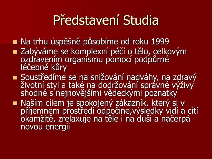 Představení Studia