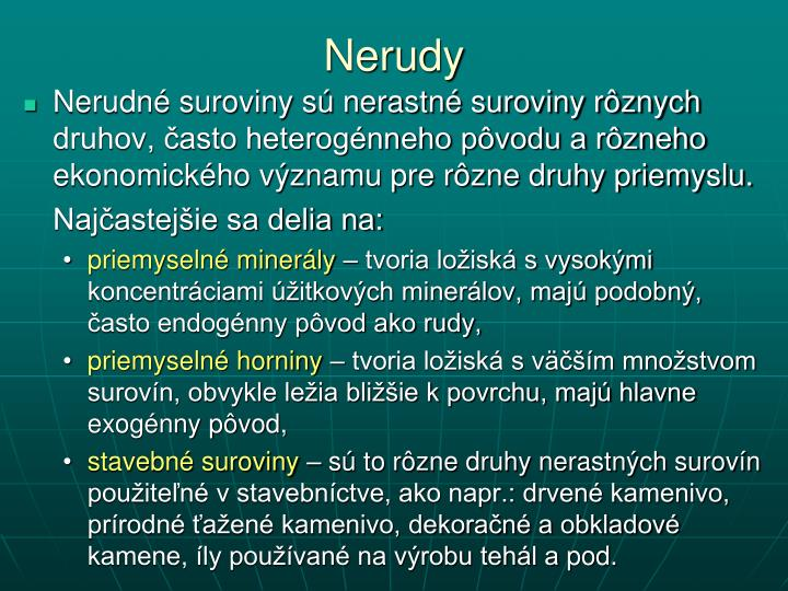 Nerudy