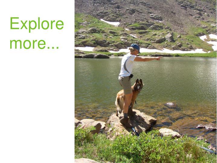 Explore more...