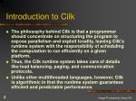 introduction to cilk