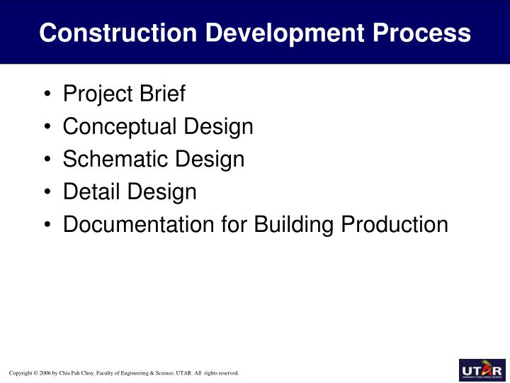 Construction Development Process