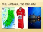 cork corcaigh the rebel city