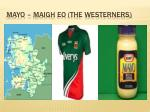mayo maigh eo the westerners