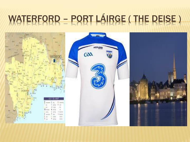 Waterford – port