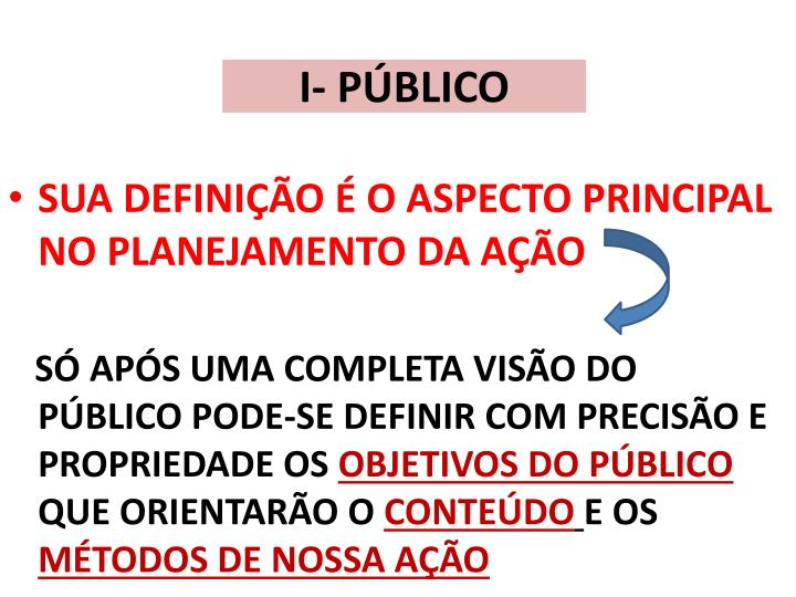 I- PÚBLICO