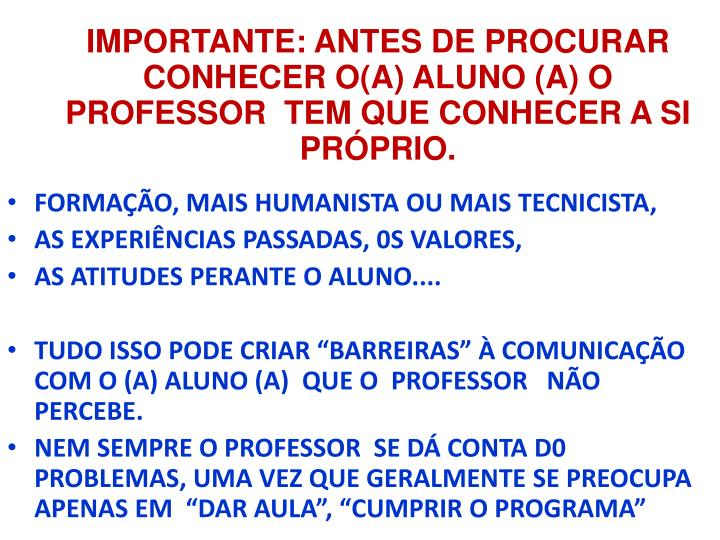 FORMAÇÃO, MAIS HUMANISTA OU MAIS TECNICISTA,