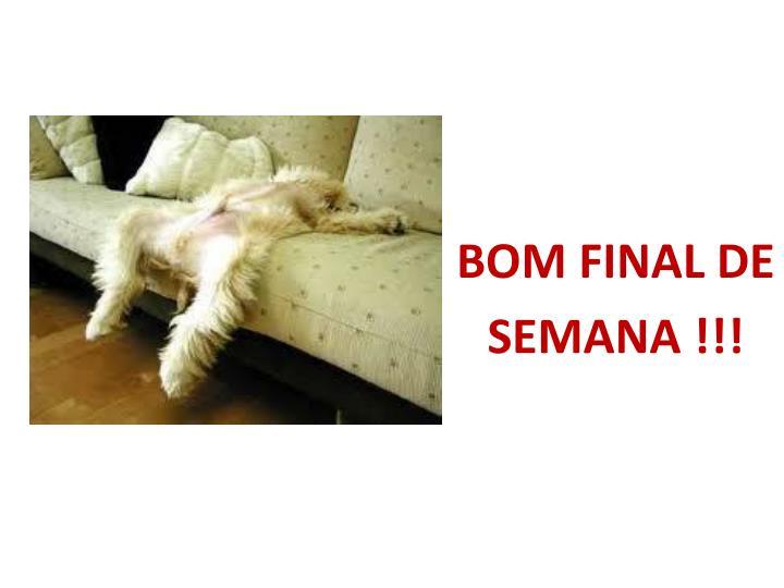 BOM FINAL DE