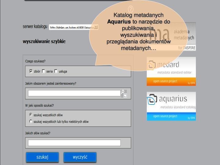 Katalog metadanych