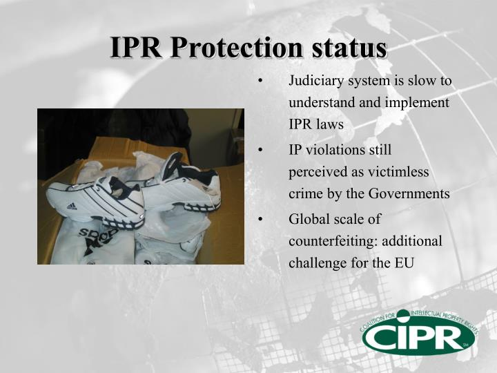 IPR Protection status
