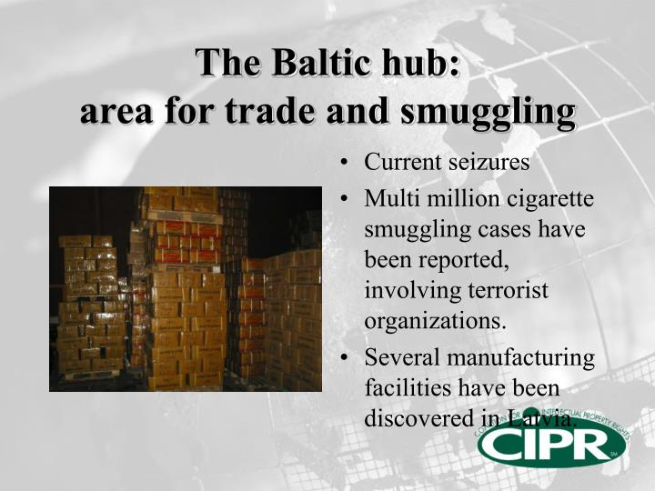 The baltic hub area for trade and smuggling1