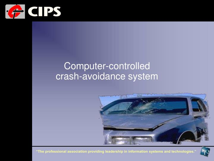 Computer-controlled crash-avoidance system