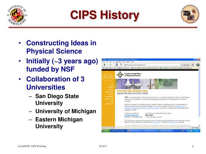 CIPS History