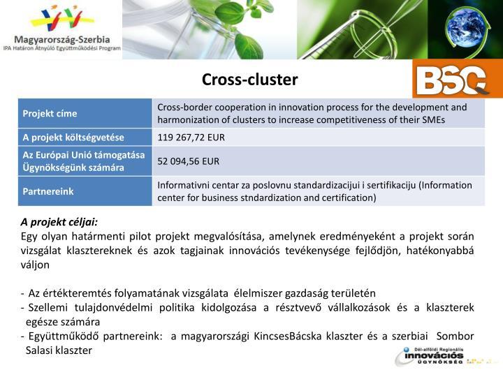 Cross-cluster
