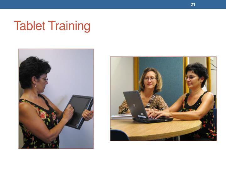Tablet Training