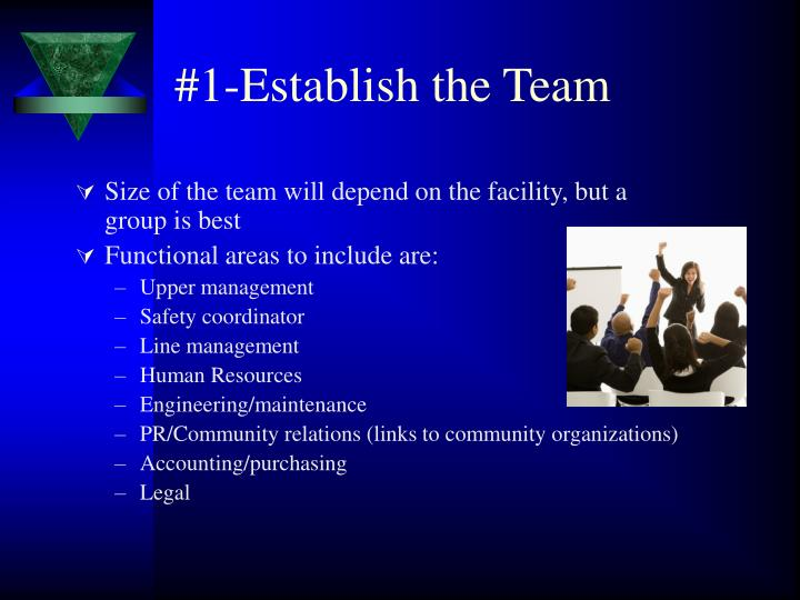 #1-Establish the Team