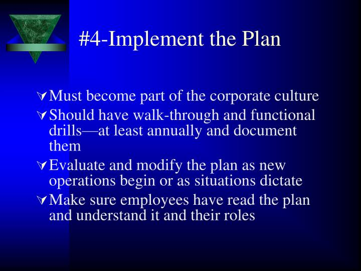 #4-Implement the Plan