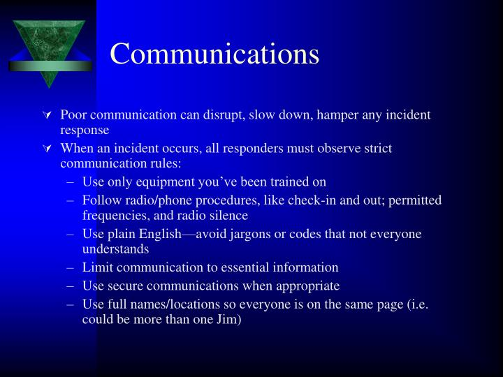 Communications