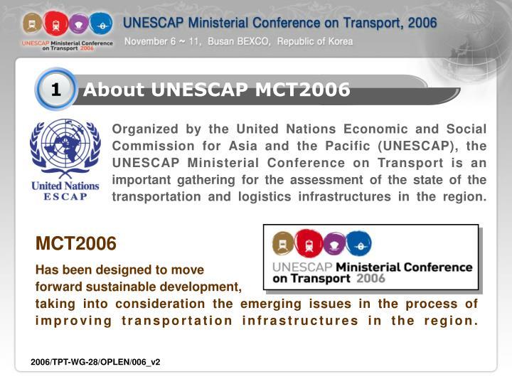 About UNESCAP MCT2006